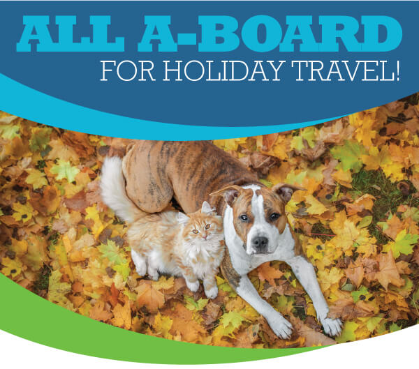 All A-Board for Holiday Travel!